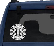 Diamond Design #1 - Jewellery Decoration Mineral Fractal -Car Tablet Vinyl Decal