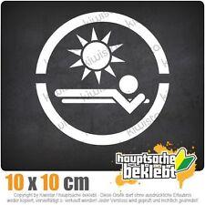 Sonnenstudio csf0684 10 x 10 cm JDM  Sticker Aufkleber