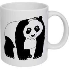 'Panda' Ceramic Mug / Travel Cup  (MG000867)
