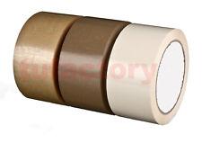Caja 36  Rollos de Cinta Adhesiva polipropileno 48mm x 126 m. Precinto embalar