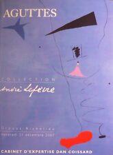 Catalogue de vente : Andre Lefevre Miro Picasso Laurens Juan Gris Leger Cubisme