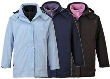 Portwest S571 Elgin 3 En 1 veste femmes étanche vêtement de travail Manteau -