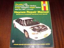Reparaturanleitung Chrysler LHS, Concorde, New Yorker + Dodge + Eagle, 1993-1997