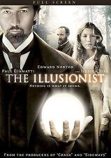 The Illusionist (DVD, 2007, FULL SCREEN)