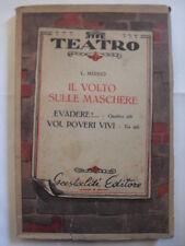 MISSIO - VOLTO SULLE MASCHERE - ED.GASTOLDI - 1950