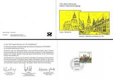 Klappkarte Edition Hannover/Leipzig (mit MiNr.1491)