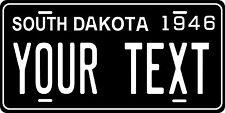 South Dakota 1946 License Plate Personalized Custom Car Bike Motorcycle Moped