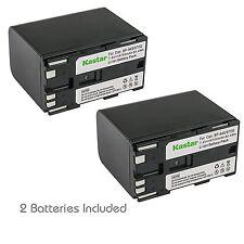 BP-970G Battery & Regular Charger for Canon V50Hi V520 V60Hi V65Hi V72 V75Hi