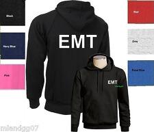 EMT Sweatshirt  Emergency Medical Technician Hoodie SIZES S-3XL -Two Sides Print