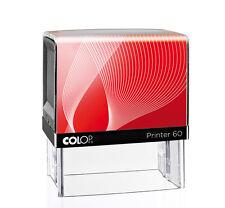 COLOP Printer 60 G7 Selbstfärber inkl. Textplatte Freie Farbwahl Neu