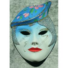 Maschera in ceramica. Adatta come trofeo di Carnevale. Appendibile