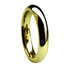 5mm 18ct Oro Amarillo Alianzas Corte Confort X Pesado Bandas HM 750 Macizo H-Z2