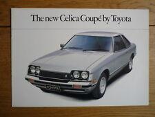 Toyota Celica Coupe Folleto 1978 Jm
