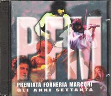"""PFM PREMIATA FORNERIA MARCONI - RARO 2 CD FUORI CATALOGO  """"GLI ANNI SETTANTA"""""""