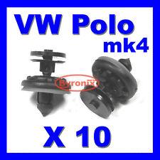 VW POLO DOOR CARD PANEL TRIM CLIPS MK4 INTERIOR PLASTIC CLIPS