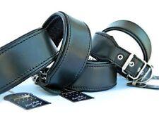 Bestia Hundehalsband mit weicher Leder Innenpolsterung. M bis XXL. Handgefertigt