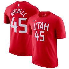 5912f93f9 Nike 2018-2019 Utah Jazz Donovan Mitchell 45 City Edition Dri-FIT Player T