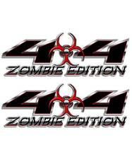 4x4 Truck Sticker - Zombie Edition Black Biohazard sticker for Silverado Titan