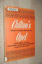 1964-1968 OPEL KADETT SHOP MANUAL SERVICE BOOK BUICK 67 66 65 CHILTONS REPAIR