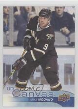 2016-17 Upper Deck UD Canvas #C250 Retired Stars Mike Modano Dallas Hockey Card