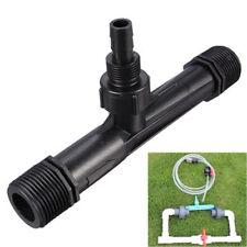 """1/2"""" 3/4"""" Garden Irrigation Device Venturi Fertilizer Injector Switch Water Tube"""
