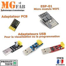 Module USB ESP8266 ESP-01 adapter | Programmation board ESP01 Arduino WIFI IOT