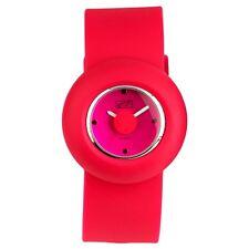 Eton Round Case Silicon Strap Fashion Watch - 2928J