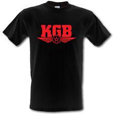 Lo STATO SOVIETICO del KGB sicurezza polizia segreta russa Heavy Cotton T-Shirt Tutte Le Taglie