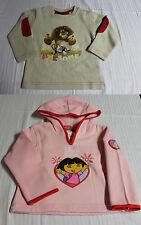 Langarmshirt Sweatshirt rosa mit Kapuze, beige mit Motiv Gr 92 98 104 110 116