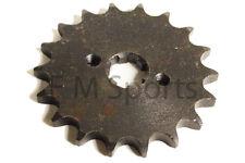 Dirt Pit Bike 50cc 70cc 90cc 110cc 125cc Parts 18 Tooth Front Sprocket 420 Chain