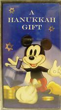 DISNEY HANUKKAH CARDS Gifts Mickey Mouse Jewish Holiday Gelt Dollars Money NEW