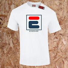 Ecstasy Rave Techno T-Shirt Fantazia 90s Dreamscape Retro Unisex Drug Spoof