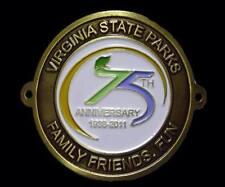 Virginia State Parks Hiking Staff Stick Medallion NEW