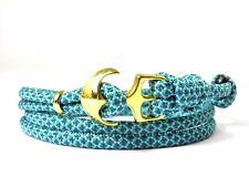 ANCORA armband-paracord-verstellbar-wickelarmband- Turchese & TEAL Diamonds