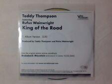 TEDDY THOMPSON feat. RUFUS WAINWRIGHT King of the road cd singolo PR0M0