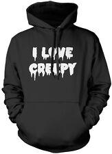 I Love Creepy - Cute Goth Unisex Hoodie