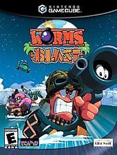 Worms Blast complete in case w/ manual Nintendo GameCube