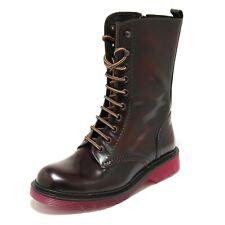 3121G stivaletto donna bordeaux SEBOY'S scarpa boots shoes women