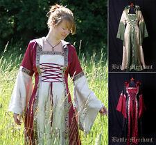 Battle Merchant Mittelalterkleid Cecilia mit Kapuze Damen Mittelalter LARP S-XL