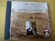 MOZART SYMPHONIES N 40 & 36 MARRINER  CD EMI