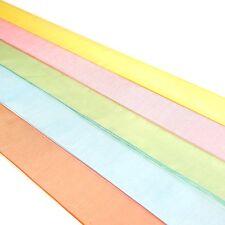 Calidad 25mm Cinta de Organza Tejido Borde de poliéster - 2 Metro Longitudes, 25 Colores