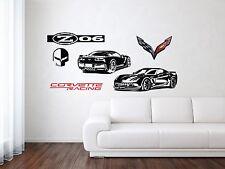 Chevrolet Corvette Z06/ZR1 Racing Sport Car Wall Decal Art Mural Vinyl Sticker