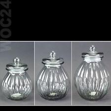 Bonboniere Vorratsglas Vorratsgläser Glas Vorratsgefäß Vorratsbehälter Keksdose