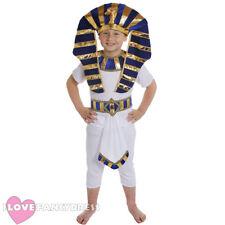 EGYPTIAN BOY COSTUME PHARAOH PRINCE ANCIENT KING HISTORICAL SCHOOL FANCY DRESS
