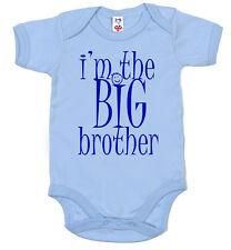 """Baby Body """"IO sono il fratello maggiore"""" Ragazzo Babygrow fratello maggiore Regalo"""