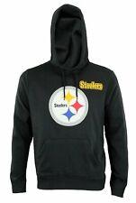 NFL Men's Pittsburgh Steelers Intimidating Pullover Fleece Hoodie