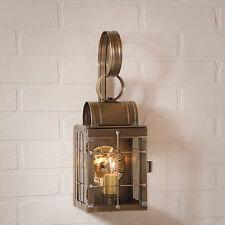 Irvin's Tinware Single Wall Lantern - Primitive Outdoor Lighting - 70WB - New