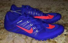 New Mens NIKE JA Fly 2 Racer Blue Crimson Track Sprint Spikes Shoes 8.5 9 10 12