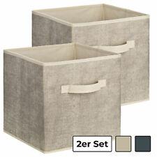2er Set Aufbewahrungsbox Universalbox  für Schrank o. Regal - Box, Ordnungsboxen