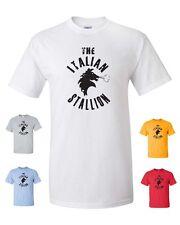 The Italian Stallion Rocky Balboa Sylvester Stallone Boxing Men's Tee Shirt 414